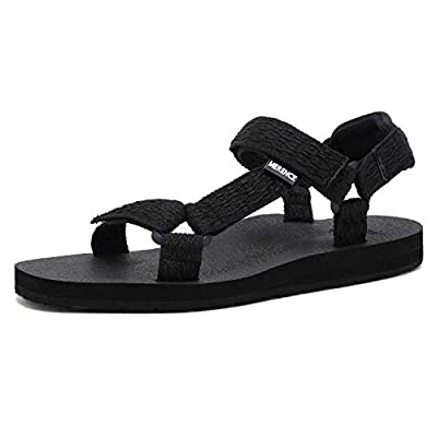 CIOR Women's Sport Sandals Hiking Sandals with Arch Support Yoga Mat Insole Outdoor Light Weight Water Shoes,U119SLX022-balck-39 Black