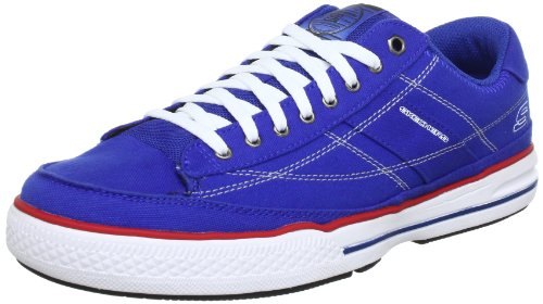 Skechers ArcadeChat 51033 BLU, Herren Sneaker, Blau (BLU), EU 40