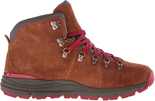 Danner Men's Mountain 600 4.5' Hiking Boot, Brown/Red-Suede, 9.5 D US
