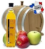 Vinaigre de cidre de pomme brut 500 ml. Fabrication Française PRODUIT NATUREL Bouteille verre. Une mine d'or thérapeutique. Soulage la fatigue, stimule le système immunitaire.