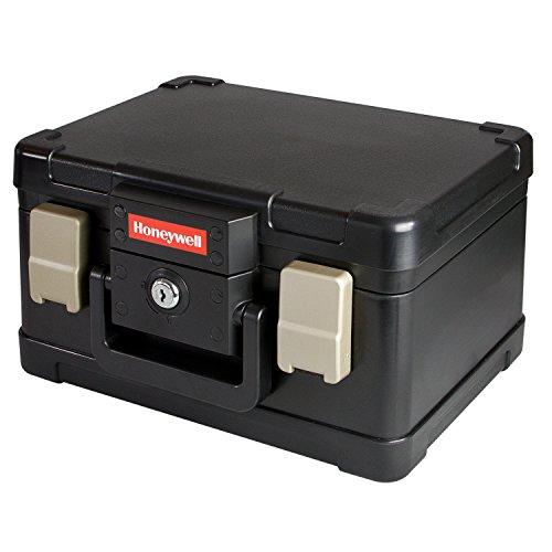 HONEYWELL Caja Ignifuga para Documentos, Impermeable Incombustible Caja para DIN A5, 30,9 x 24,9 x 17,8 cm