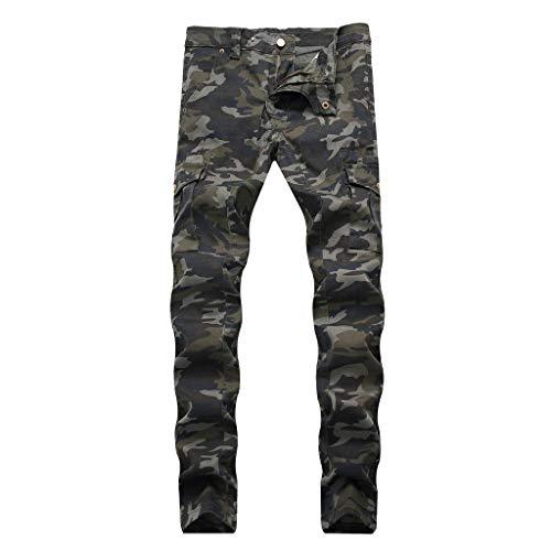 Homme Jeans WINJIN Imprimé Jeans Regular Slim Pantalon Denim Homme Destroy DéChiré Style Vintage Jeans Casual Denim Grande Taille Homme Jean Vintage Pantalon Denim Jeans Motard Slim Pantalon Peint