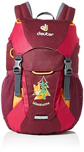 Deuter Unisex - Kinder Wanderrucksack Waldfuchs, blackberry-magenta, 35 x 25 x 15 (H x B x T), 10 Liter, 36031