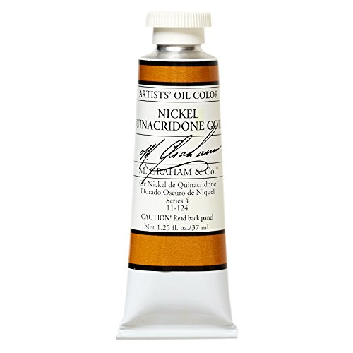 M. Graham & Co. Oil Paint, Nickel Quinacridone Gold