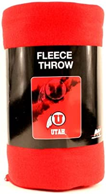 Utah Utes Ghost Fleece Throw Blanket