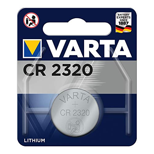 VARTA CR2320 Lithium Knopfzelle 3V Batterie in Original Blisterverpackung