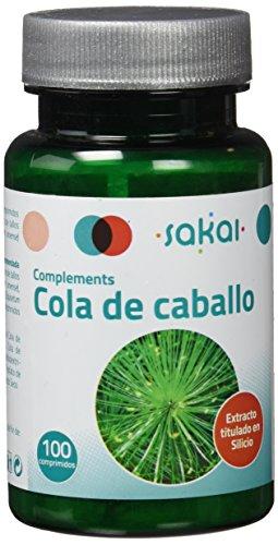 Sakai – Cola de caballo en comprimidos (diurético natural, remineralizador, fuente natural de silicio orgánico)
