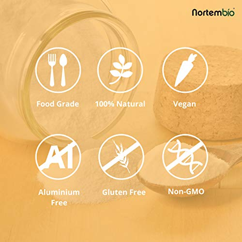 NortemBio Bicarbonato de Sodio Ecológico 820g. Grado Alimentario ...