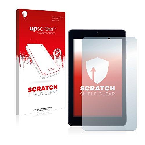 upscreen Protector Pantalla Compatible con Alldaymall A88T Película Protectora – Transparente, Anti-Huellas