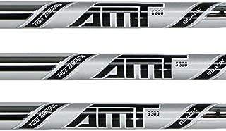 True Temper AMT Black 4-PW Steel Iron Shafts .355 Taper Tip - Set of 7 Shafts (Choose Flex)