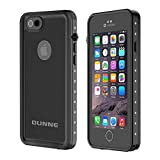 OUNNE iPhone 6/6s Waterproof Case, IP68 Certified with Touch ID Underwater Full Body Cover SandProof...