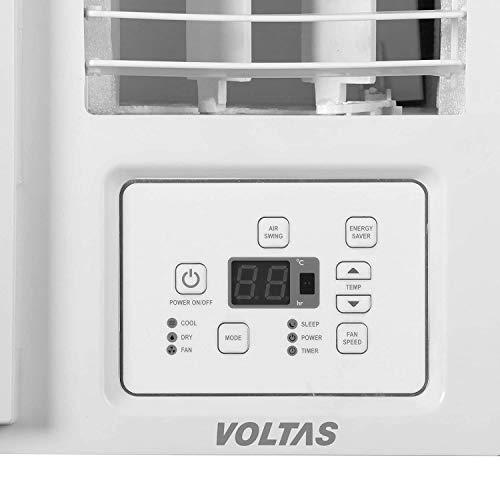 Voltas 1.4 Ton 5 Star Fixed Speed Window AC (Copper, 2021 175 LZH, White), regular