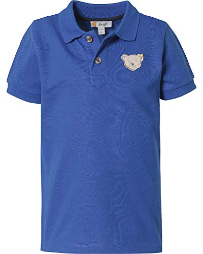 Steiff Baby-Jungen Poloshirt, Blau (Surf In The Web 6002), 86