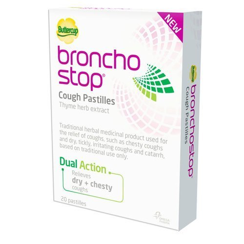 Bronchostop Buttercup Pastilles - Pack of 20 by Bronchostop