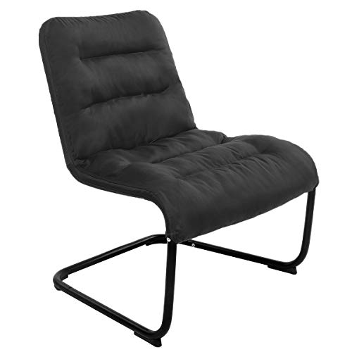 Zenree Bedroom Chairs for Living Room,Guest's Teen's Room Colleage Dorm, Black