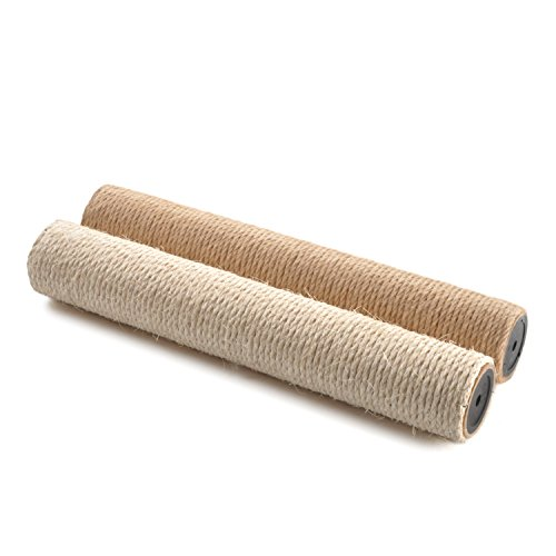 4CLAWS Wall Mounted Scratching Post Refill (Sisal & Jute)