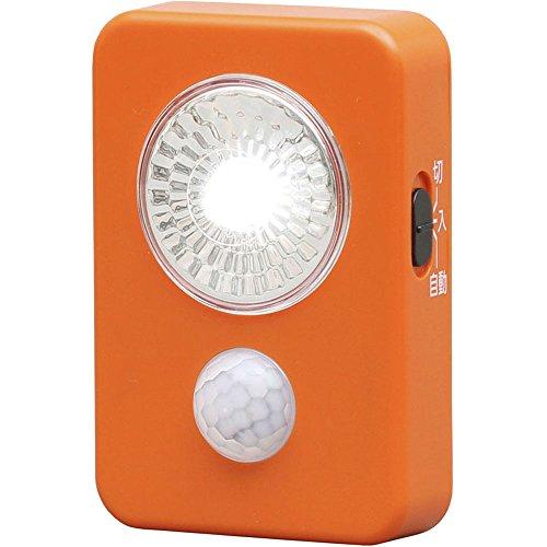アイリスオーヤマ LED屋内センサーライト 乾電池式 ハンディタイプ LWM-40K