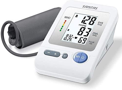 Sanitas SBM 21 Tensiomètre Électronique au Bras - Suivi Quotidien de votre Tension Artérielle -...