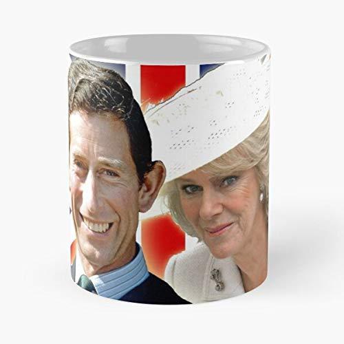 British The Charles Diana Royalty Di Royals Prince Family Lady Princess Hrh Wales Royal Spencer of Eat Food Bite John Best Kaffeetasse aus Keramik, 325 ml