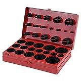YAYANG Gasket 419pcs Gomma O Ring Kit Guarnizione di Tenuta in Gomma Universale O-Ring assortimento Set R01-R32 Tool Parts