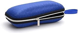 7 Shuda Glasses Case Custodia Occhiali Portatile Occhiali Scatola per Ccchiali per Donna e Uomo size 17 6CM Blu