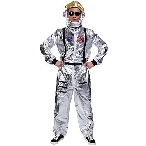 SEA HARE Disfraz de Astronauta Adulto (Hombre con Sombrero)