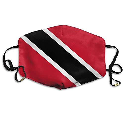 Trinidad en Tobago Vlag Anti Stof Ademend Gezicht Mond Masker voor Man Vrouw