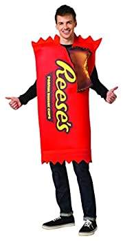 Hershey's Reese's Chocolate Peanut Butter Cups 2 Pack Candy Costume Mens Womens