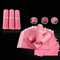 MINGTAI 100個のマルチサイズピンク色の封筒/メーリングリストバッグ/クーリエメーラーエクスプレスバッグ (Gift Bag Size : 25x35)
