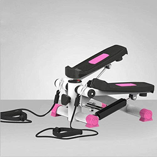 DSG Inicio máquina silenciosa instalación libre de la máquina de alpinismo, máquina multifunción pedaleo equipo fitness stepper-Rose_Red