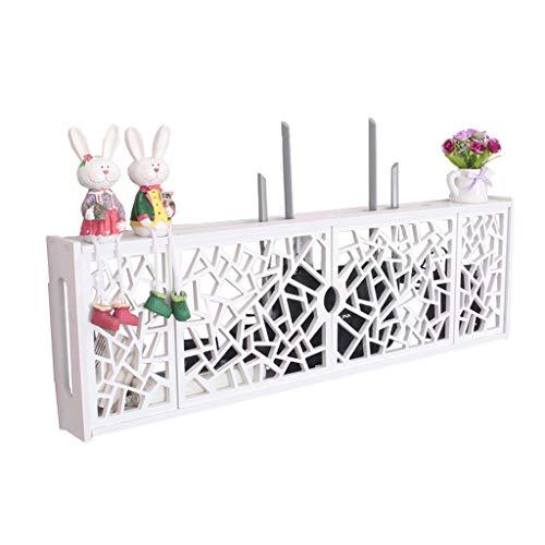 Goede decoratie Europese TV Set-top Box - Wandmontage WIFI Router Opslag Plank Woonkamer Creatieve Opbergdoos Multifunctionele Occlusie Box Wit