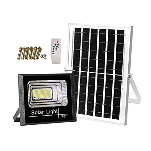 Foco Solar Led Exterior 356, 647, 1103 Perlas De Lámpara Grandes ,luces Solares Jardin Resistente Al Agua Con Control Remoto Y Función De Sincronización,Solar Proyector Para Jardi(Size:356 lamp...