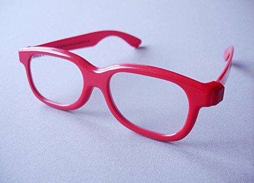 Herzchenbrille, 3D Brille, Herzen, Kunststoffbrille / Herzchen entstehen Mitten im Raum