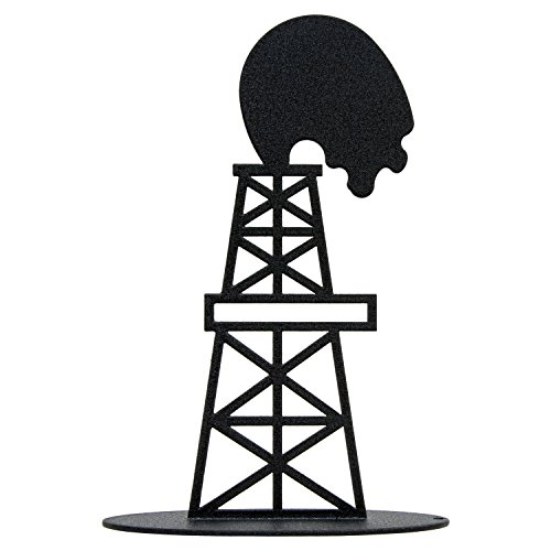 Oil Derrick Centerpiece - 7 Inch