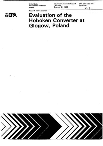 Evaluation Of The Hoboken Converter At Glogow Poland (English Edition)