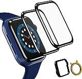 TOPACE 2 Stück Schutzfolie kompatibel mit Apple Watch Series 6/SE/5/4 44mm Folie,10D-Vollabdeckung weiche Kante HD TPU Clear Anti-Scratch Bildschirmschutzfolie kompatibel mit Apple iWatch 44mm