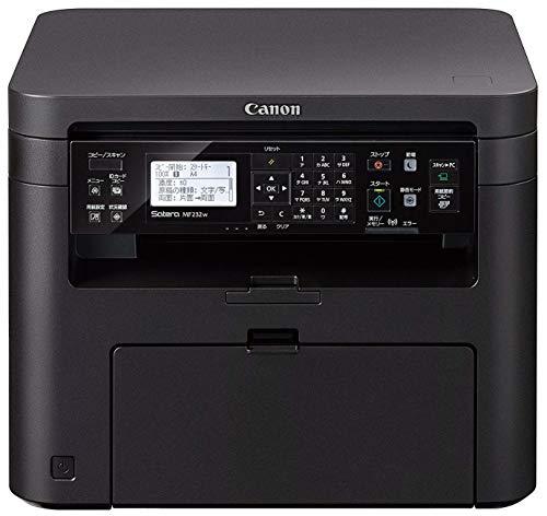 Canon レーザープリンター A4モノクロ複合機 Satera MF232w(23PPM/有線・無線LAN) テレワーク向け