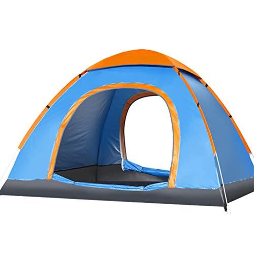 Liutao Outdoor klimtent, muggennet dubbele deur, ademende campingtent, zonwering, tent voor 3-4 personen
