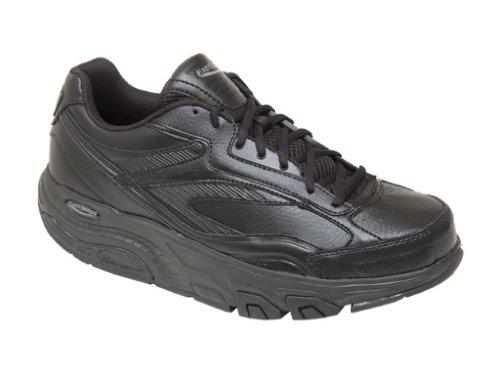 Exersteps Men's Whirlwind Black Sneakers,Black,11 M US