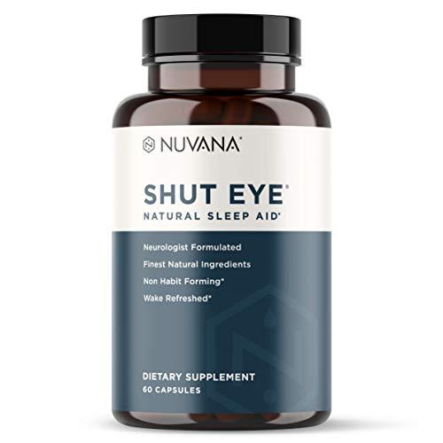 Shut Eye Natural Sleep Aid | Herbal Relaxation...