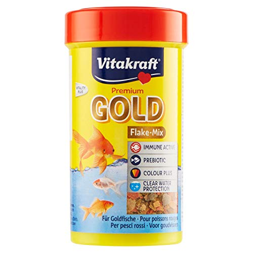 Vitakraft - 20702 - Gold Aliment en Flocons pour Poissons Rouges - 100 ml