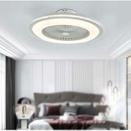 Luz de ventilador de techo de promesa de tres colores, luz de techo de ventilador de techo de luz de dormitorio de estudio de comedor simple moderno