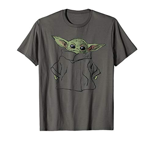 Star Wars The Mandalorian The Child Illustration T-Shirt