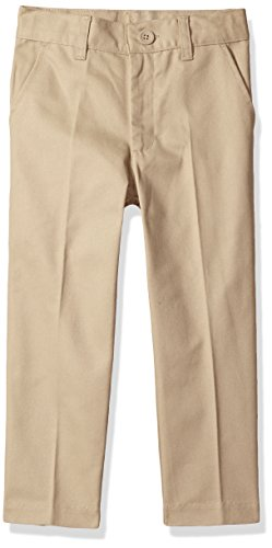 Classroom School Uniforms Big Boys Flat Front Pant, Khaki, 12