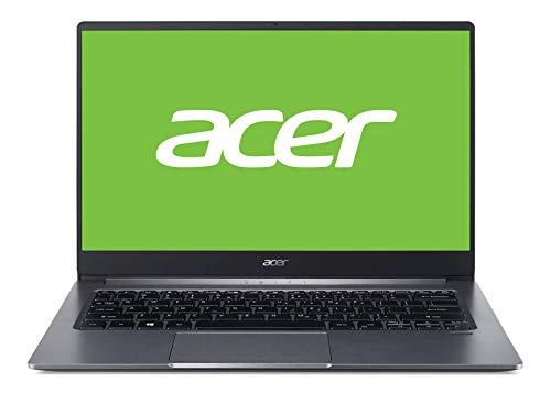 Acer Swift 3 (SF314-57-57S9) 35,6 cm (14 Zoll Full-HD IPS matt) Ultrabook (Intel Core i5-1035G1, 8 GB RAM, 1.000 GB PCIe SSD, Intel UHD, Win 10 Home) Steel Gray