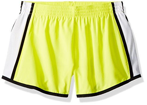 Augusta Sportswear Damen Augusta Girls Pulse Team, Power Yellow/White/Black, Large Shorts, Groß