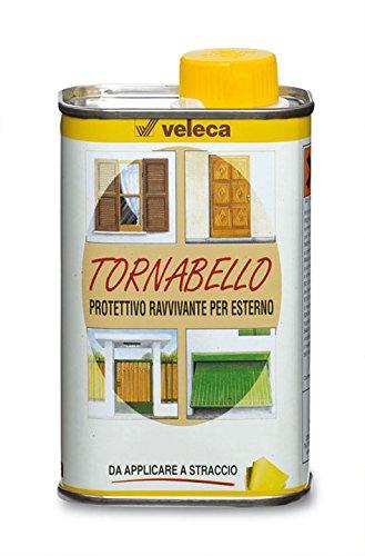 Veleca TORNABELLO ml.250 - OLIO PROTETTIVO E RAVVIVANTE PER ESTERNO - Aspetto lucido