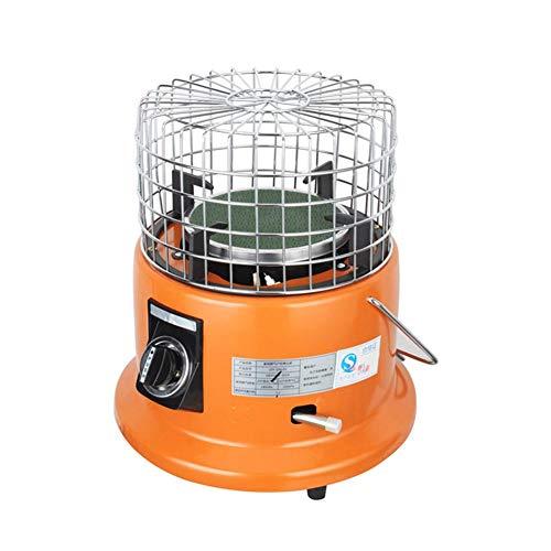 Elektrische Heizung, Gasheizung im Freien Einstellbare Schutzgitterabdeckung Verflüssigungsgas Multifunktional Mit einstellbarem Thermostat Konvektor Heizkörper Raumheizung Lüfter