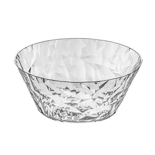 Koziol Crystal 2.0 S Small Salad Serving Bowl 0.7 l / 23 fl.oz, Crystal Clear