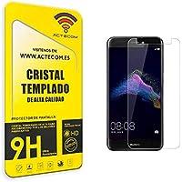 actecom® Protector DE Pantalla para Huawei P8 Lite 2017 Cristal Vidrio Templado